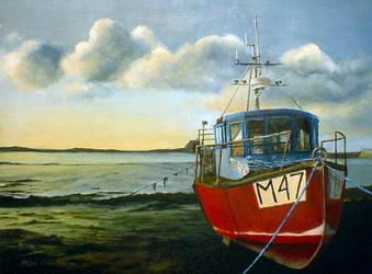 Welsh Fishing Boat