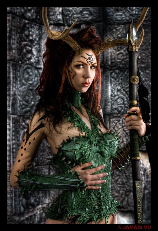 Druid Warrior by Lillyxandra