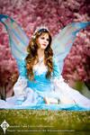 The Blue Masquerade Fairy