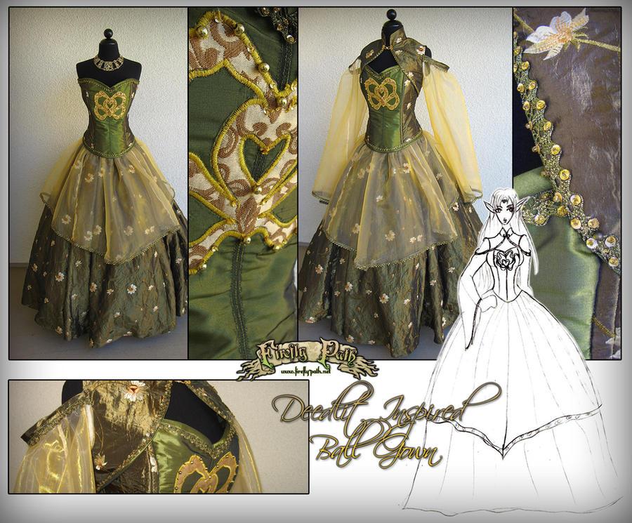 Deedlit Ballgown by Lillyxandra