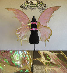 Pink Faerie Wings