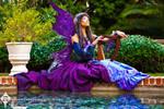 The Indigo Masquerade Fairy