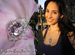 Rose Gem Necklace