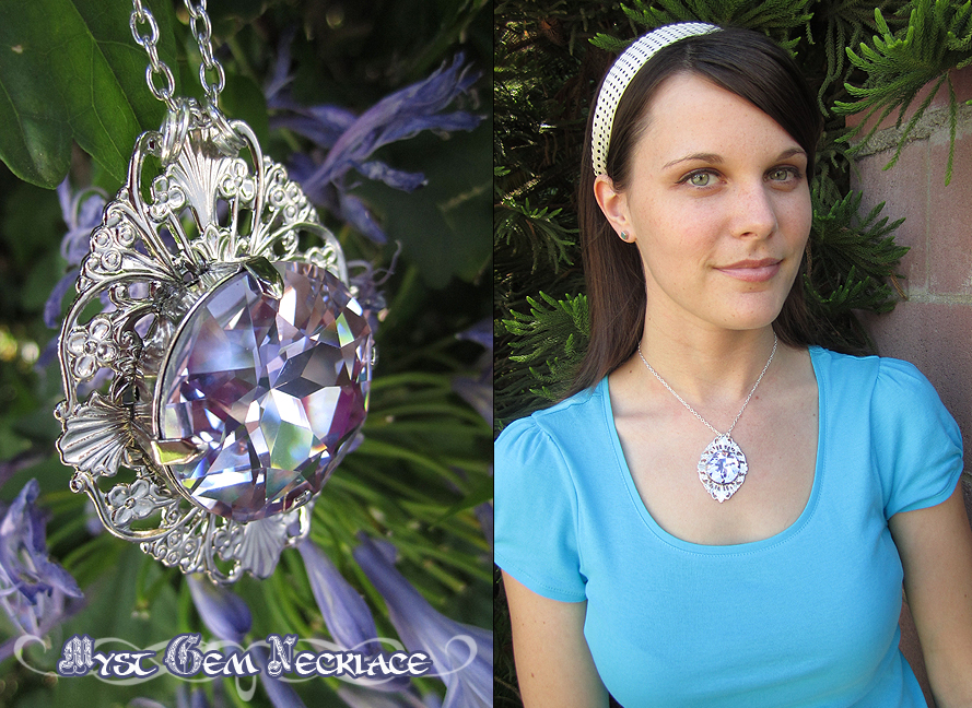 Myst Gem Necklace by Lillyxandra