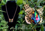Prism Butterfly Necklace