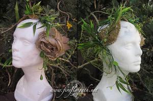 Absinthe Fairy Headdress by Firefly-Path