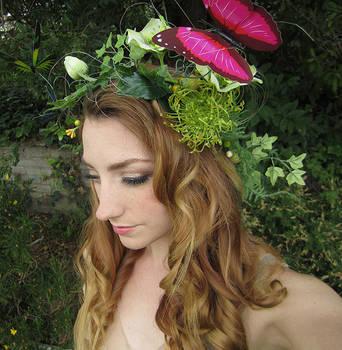 Buttefly Fairy Headdress by Firefly-Path