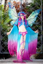 Tropical Sunset Fairy