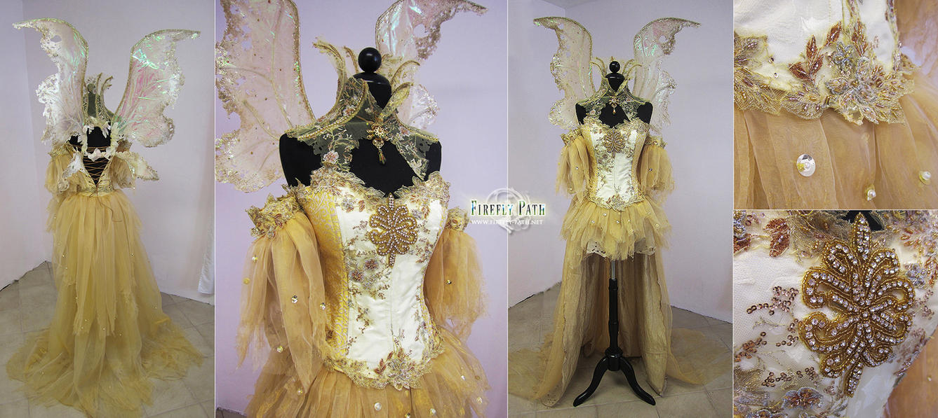 Sun Fairy Costume by Lillyxandra