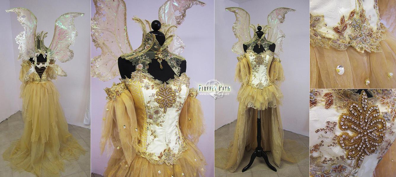Sun Fairy Costume by Lillyxandra