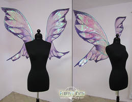 Large Purple Fairy Wings by Firefly-Path