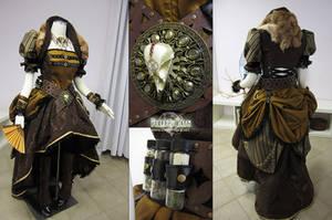 Lady Steampunk Pirate by Firefly-Path
