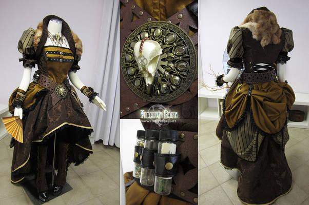 Lady Steampunk Pirate