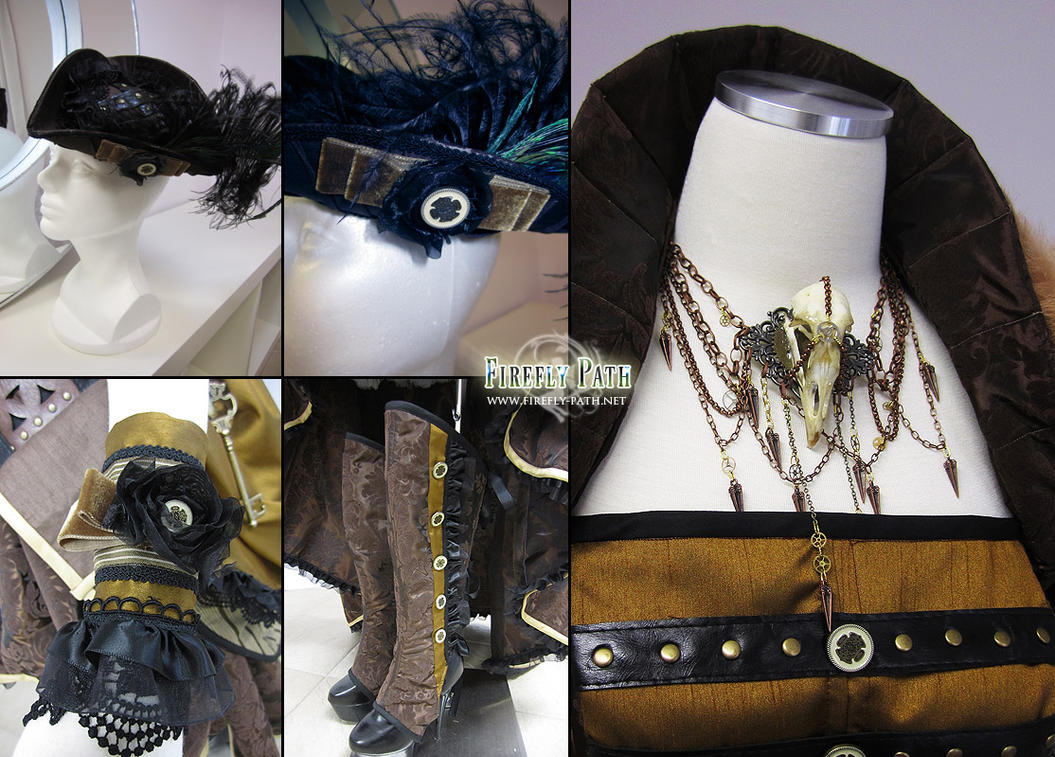 Steampunk Pirate Accessories by Lillyxandra