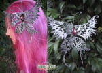 Silver Butterfly Hair Clip