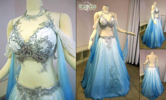 Belly Dancer Wedding Gown