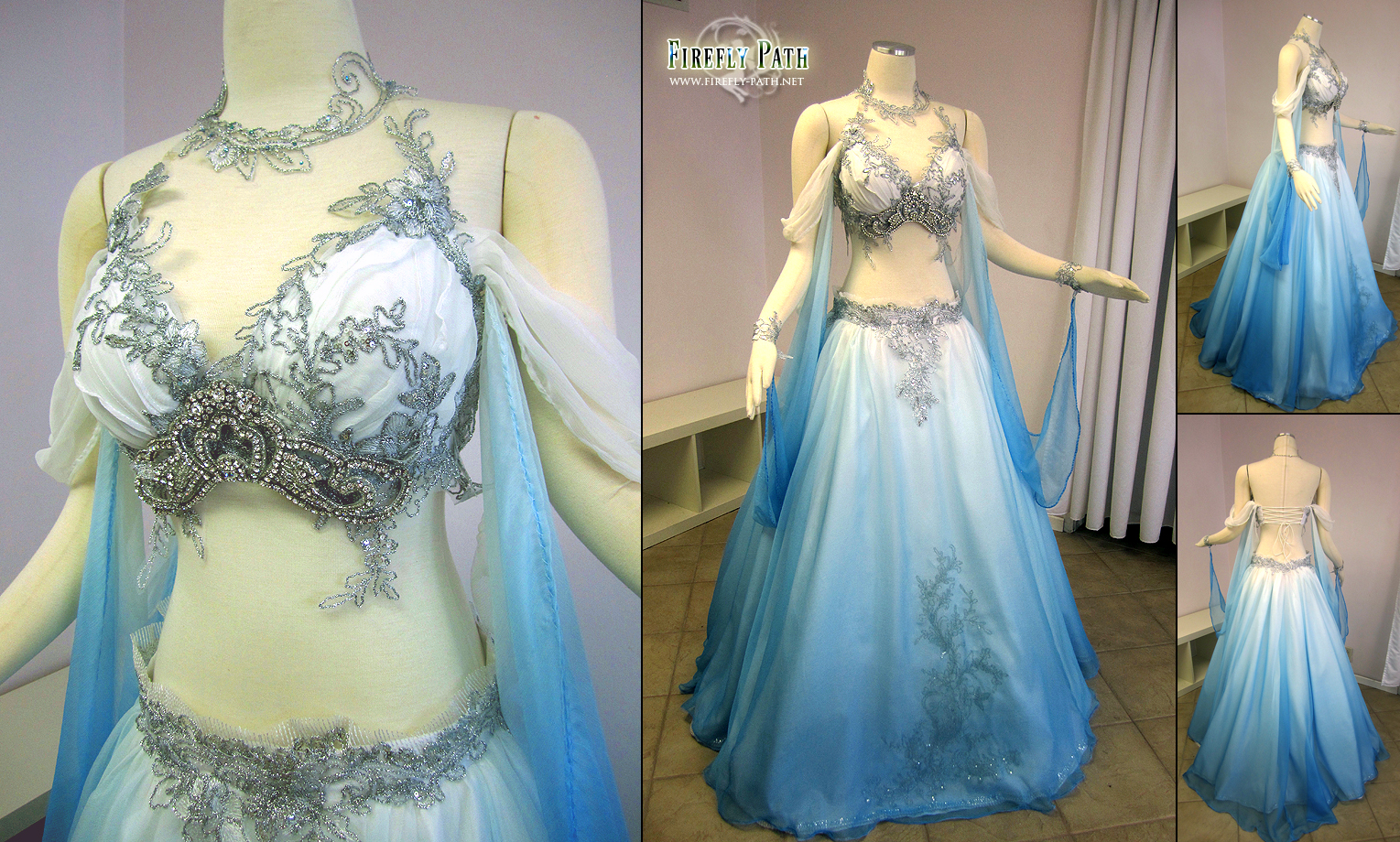 Belly Dancer Wedding Gown by Lillyxandra