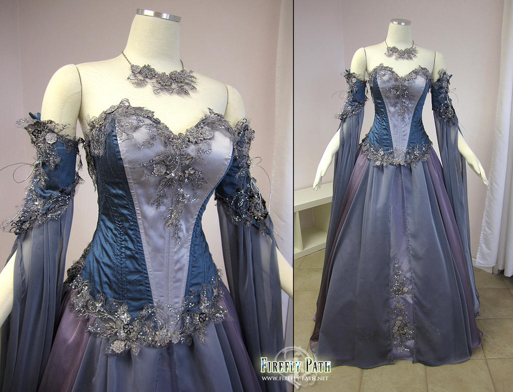 Lady of the lilac by firefly path on deviantart for Celtic wedding dresses for sale