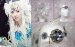 Ice Goddess Hair Accessories