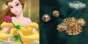 Belle's Earrings and Broach