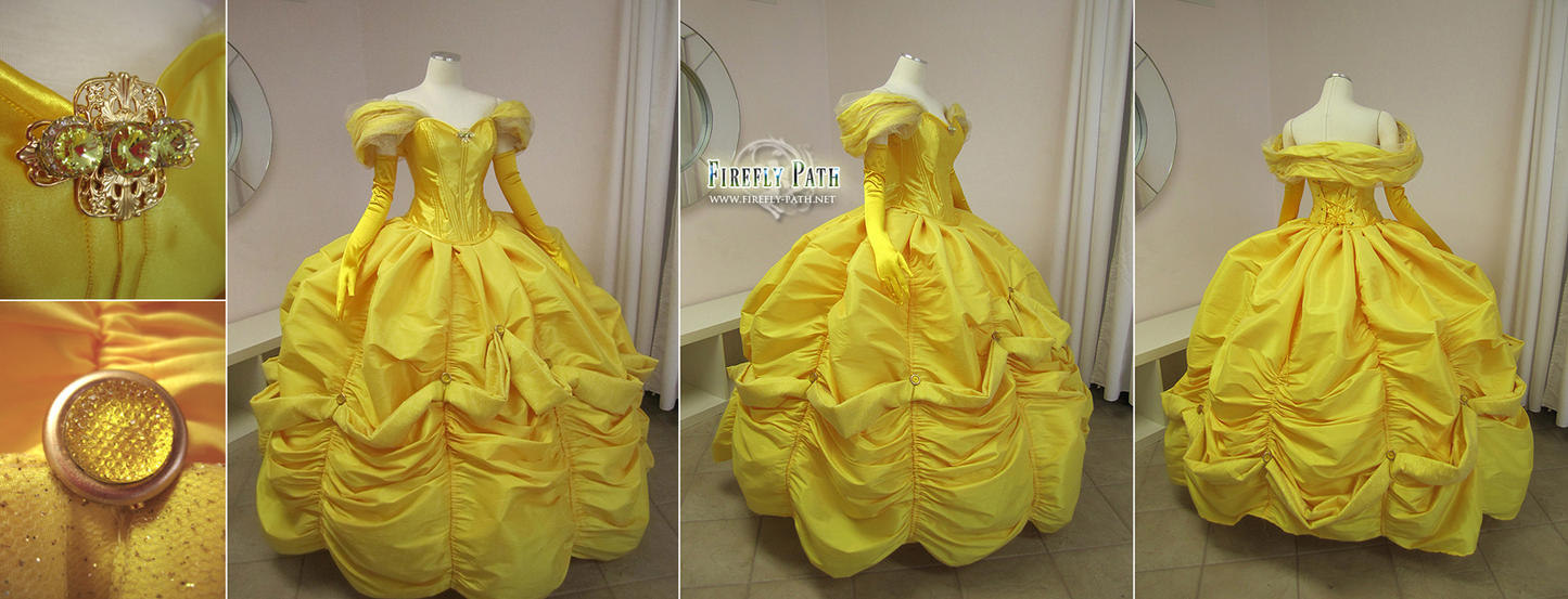 Belle Ball Gown by Firefly-Path on DeviantArt
