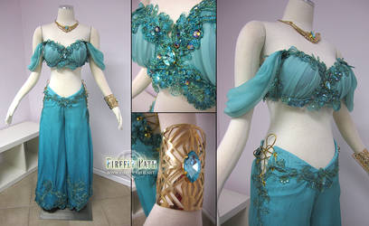 Disney Princess Jasmine Costume by Firefly-Path