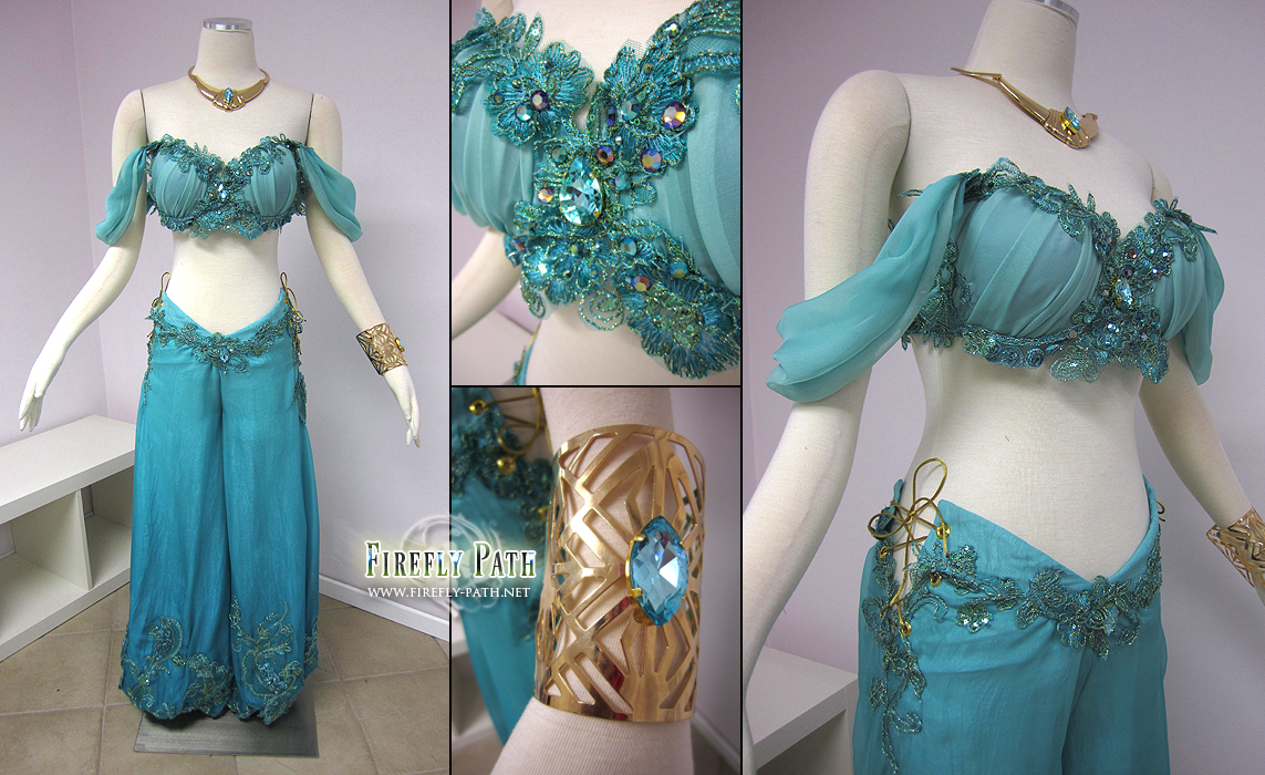 Disney Princess Jasmine Costume by Lillyxandra