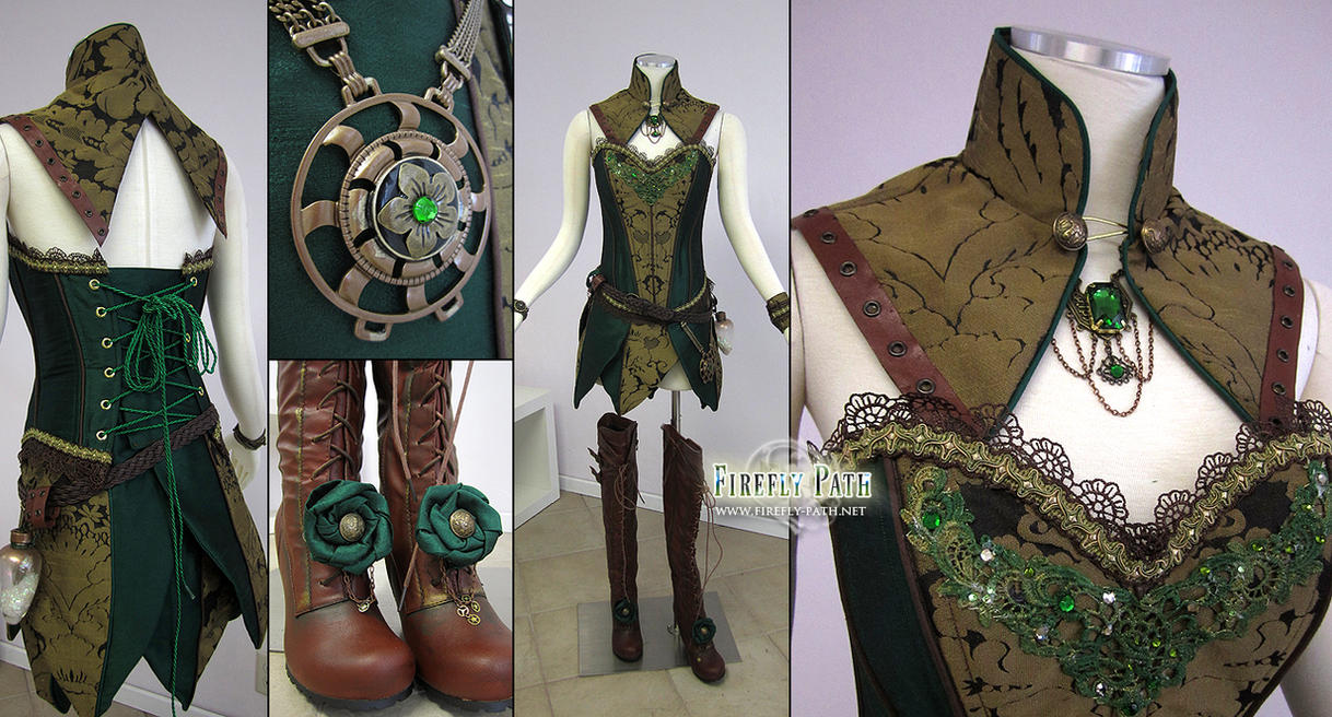 Steampunk Tinkerbell by Lillyxandra