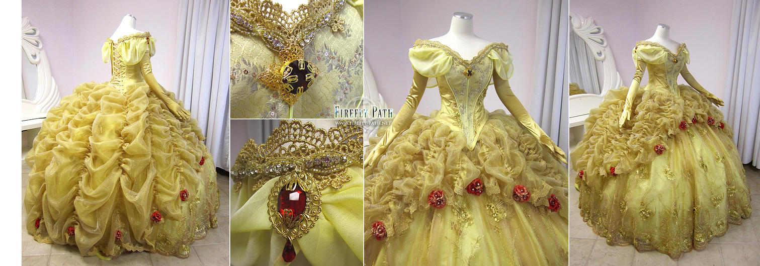 Original Firefly Path Belle Gown by Lillyxandra