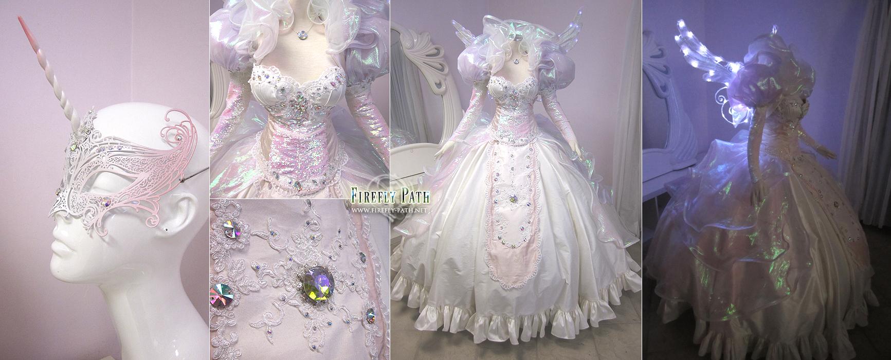Princess Celestia Ball Gown by Lillyxandra