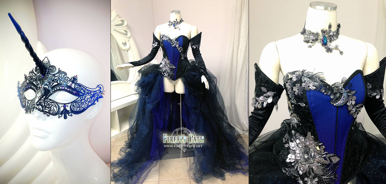 b1a530bedbb Princess Luna Ball Gown by Firefly-Path on DeviantArt