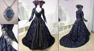Regina Mills Once Upon a Time Purple Gown