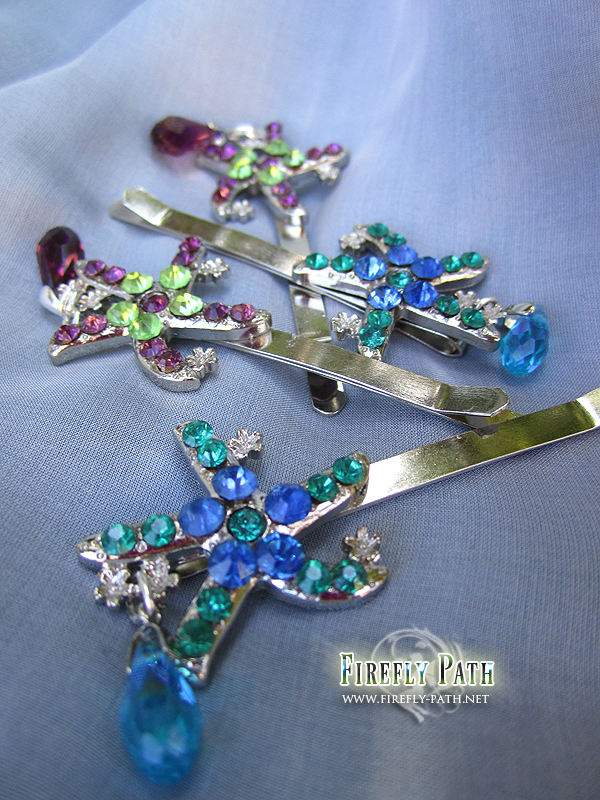Starfish Hairpins by Lillyxandra