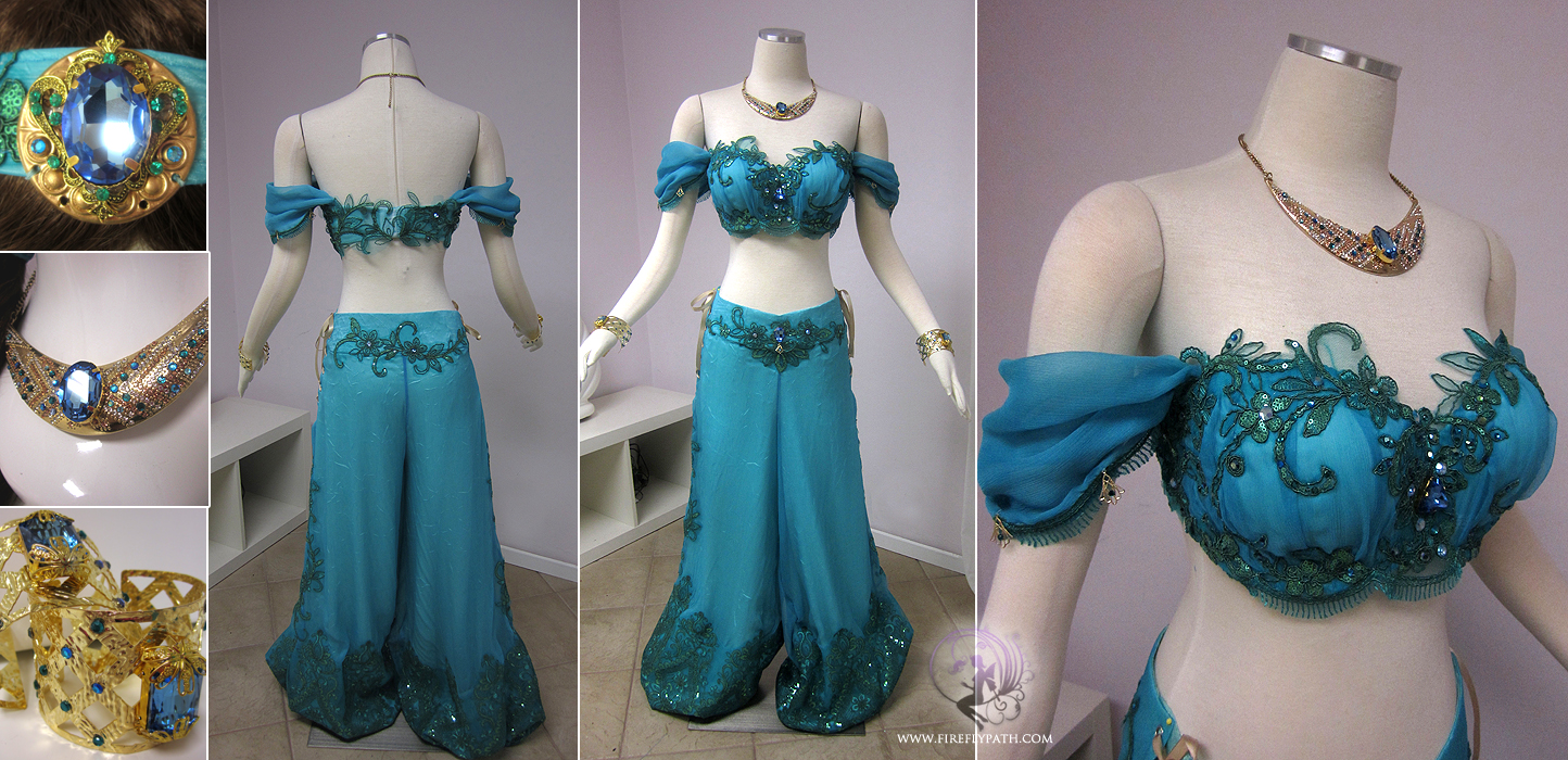 Princess Jasmine Costume by Lillyxandra