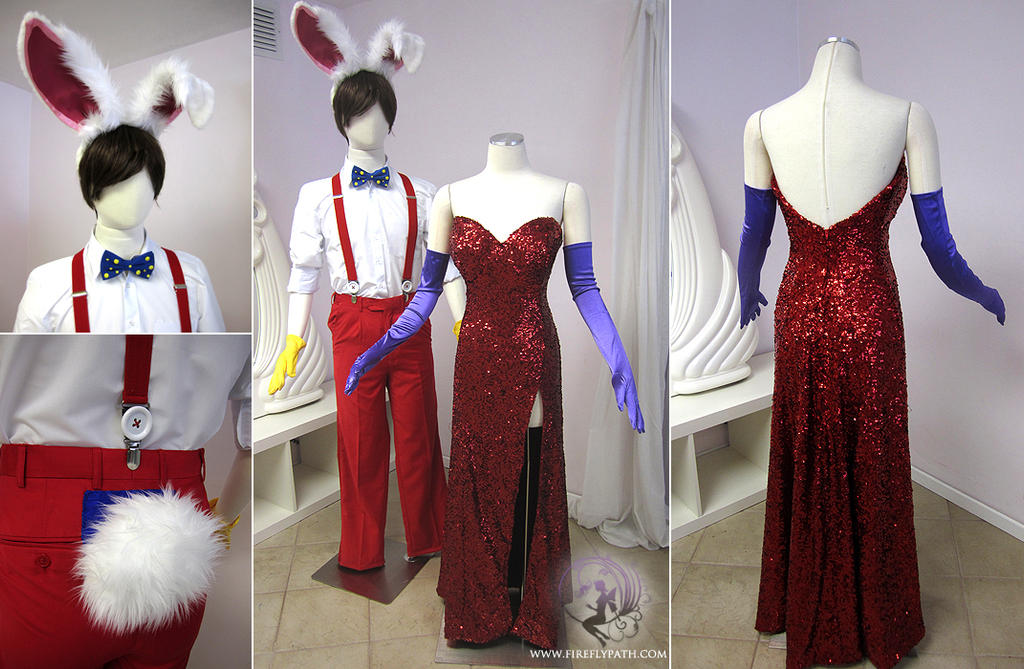 Roger Rabbit And Jessica Rabbit Costume By Firefly Path On Deviantart