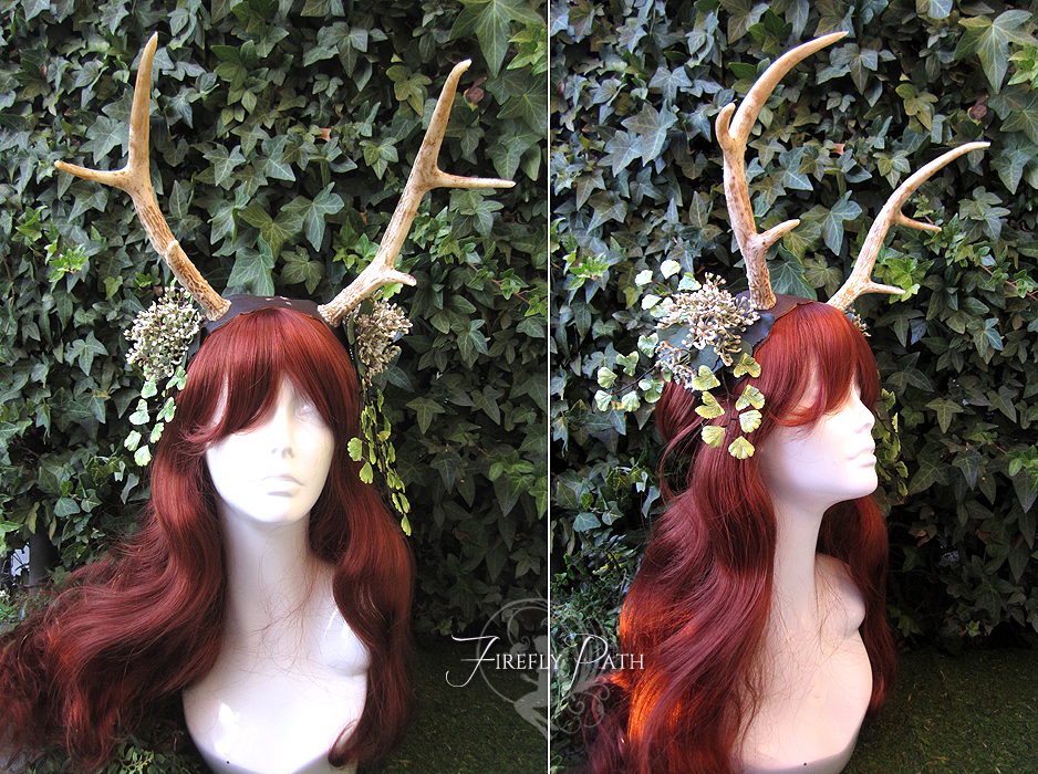 Forest Fawn Headdress by Lillyxandra