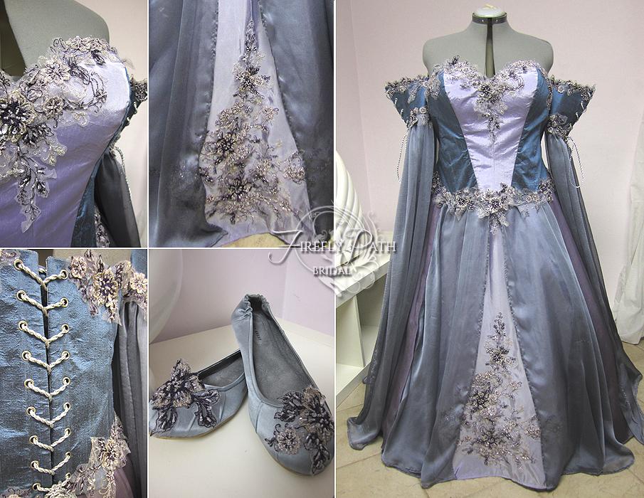 Lavender Wedding Dress by Lillyxandra