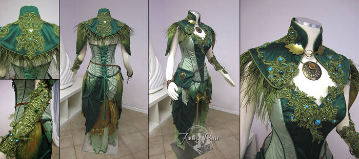 Dryad Archer Costume by Firefly-Path
