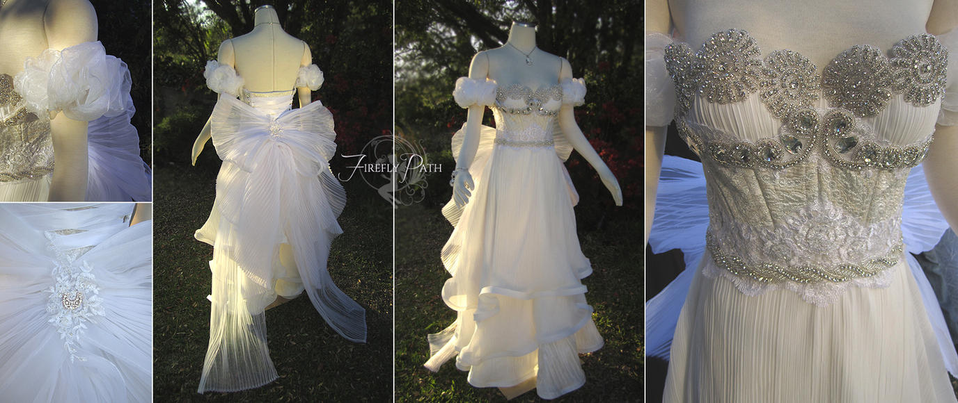 Sailor Moon: Princess Serenity Gown by Lillyxandra