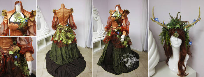 Mother Earth Original Gown and Headdress