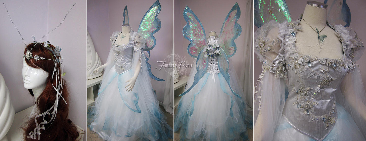 Butterfly Wedding Dress by Firefly-Path