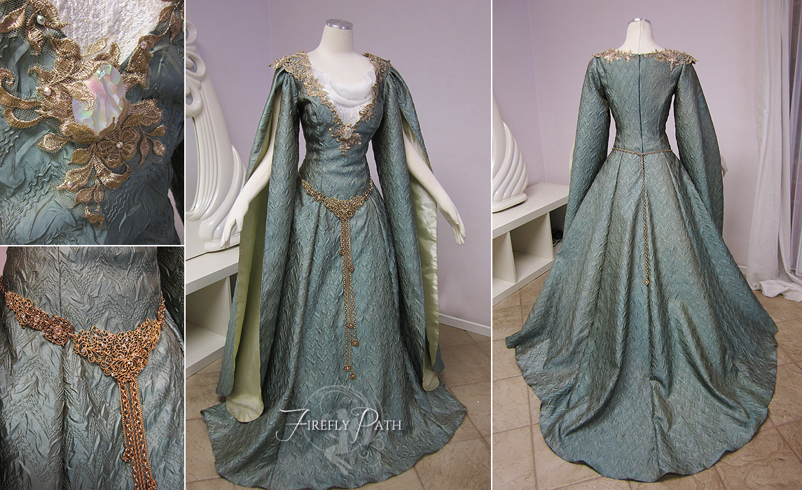 Galadriel Inspired Gown by Lillyxandra on DeviantArt