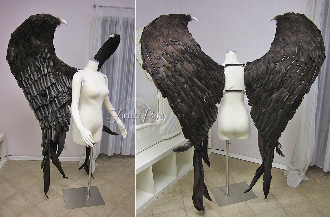 Maleficent Feather Wings by Firefly-Path