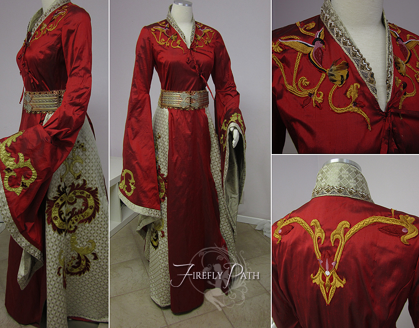 Cersei Lannister Red Dress by Lillyxandra