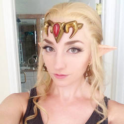 Zelda Selfie by Firefly-Path