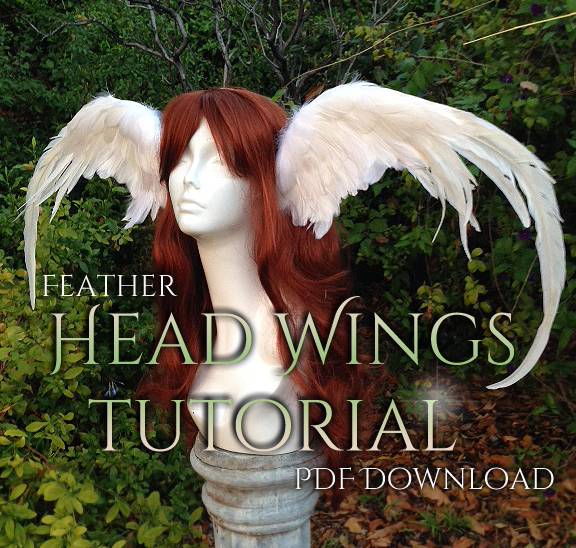 Head Wings Tutorial by Lillyxandra