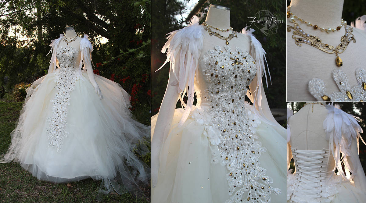 1a6fb101c294 Swan Lake Ball Gown by Firefly-Path on DeviantArt