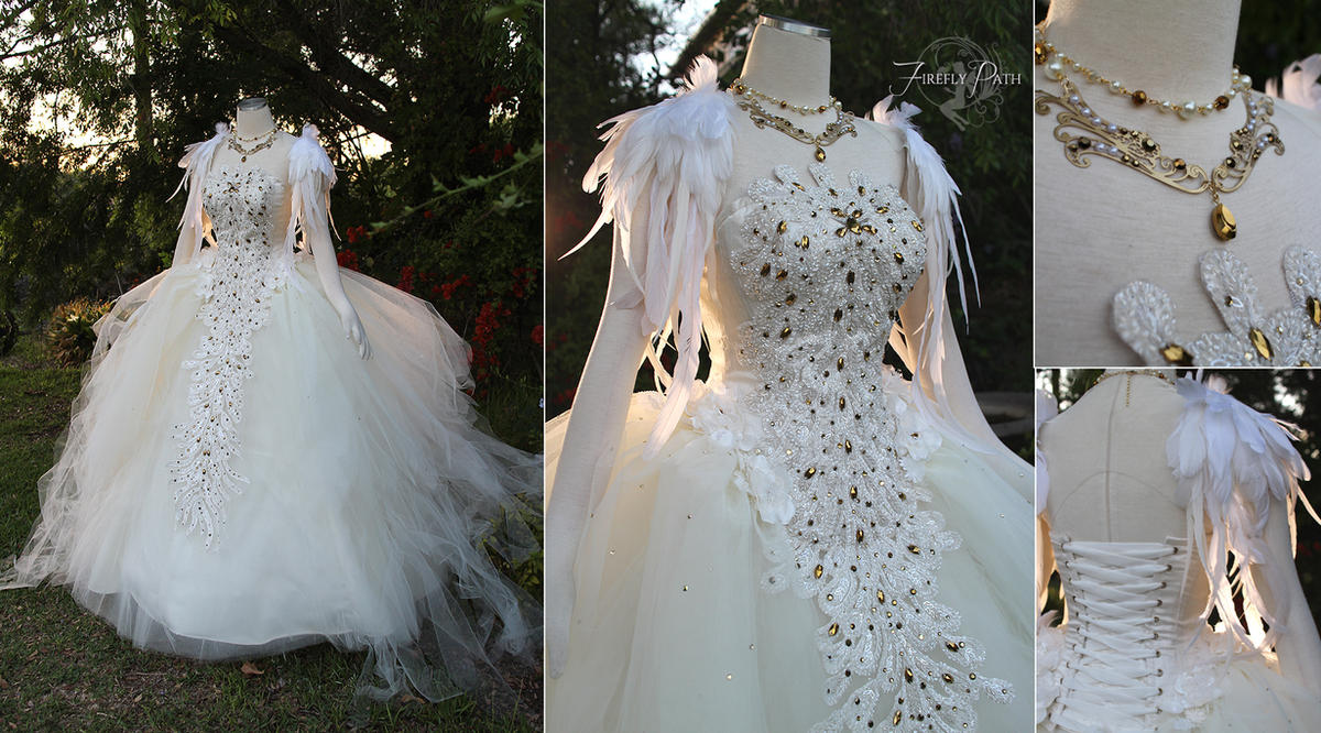 Swan Lake Ball Gown by Firefly-Path on DeviantArt