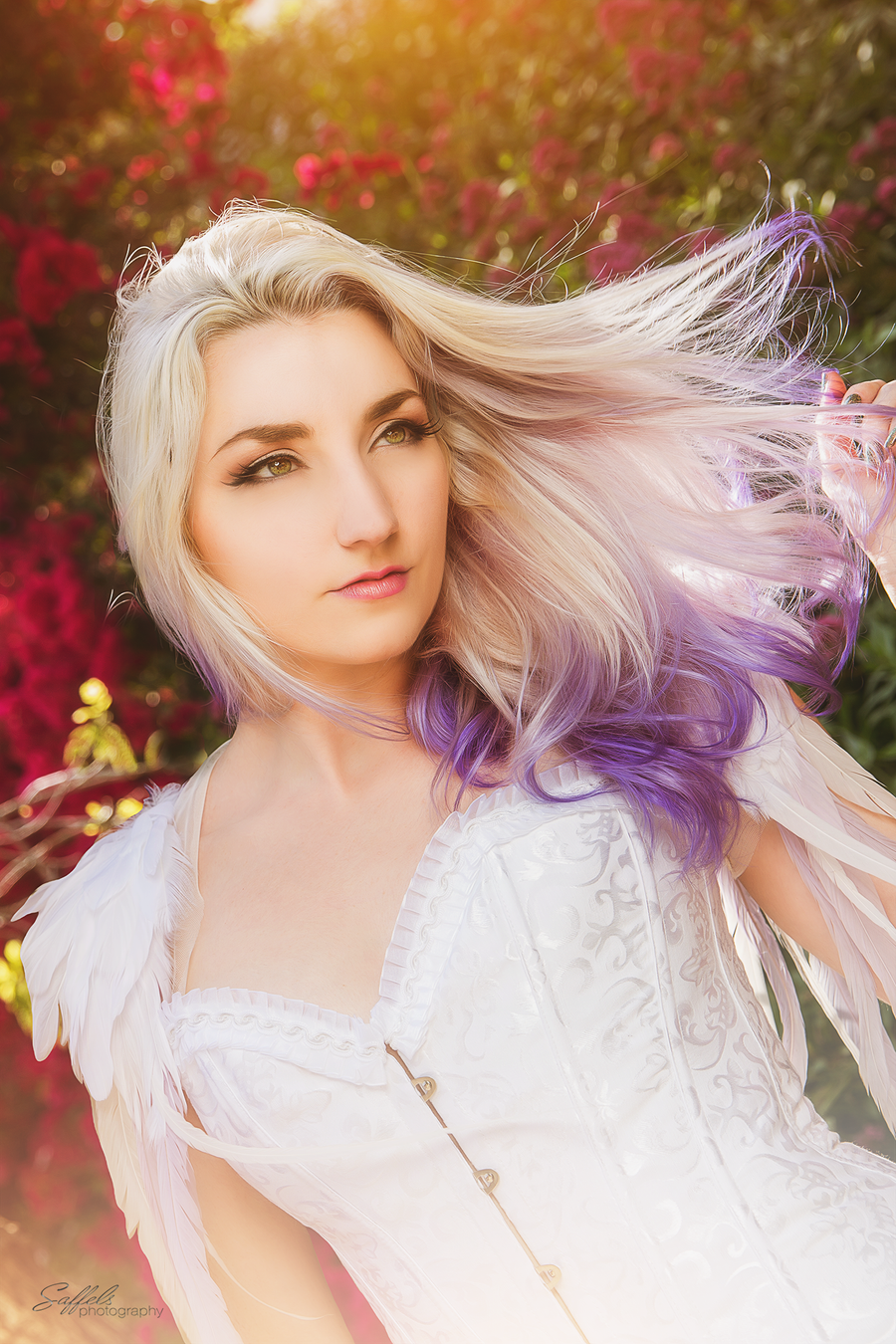 silver and purple ombre hair by fireflypath on deviantart