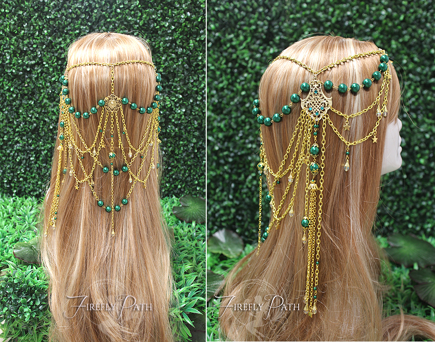 Magical Forest Star Circlet by Lillyxandra